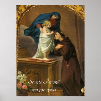 Saint Anthony poster, Poster di Sant'Antonio