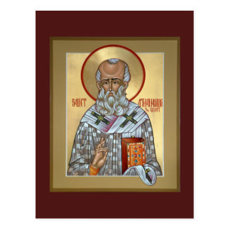 Saint Athanasius Prayer Card