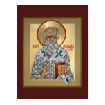 Saint Athanasius Prayer Card Post Cards