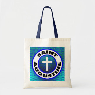 Saint Augustine Tote Bags