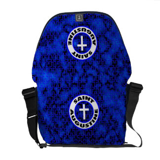 Saint Augustine Courier Bag