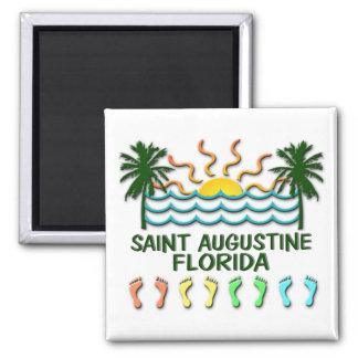Saint Augustine Florida 2 Inch Square Magnet