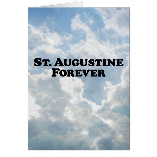 Saint Augustine Forever - Basic Card