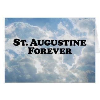 Saint Augustine Forever - Basic Greeting Card