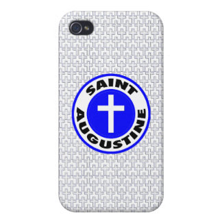 Saint Augustine iPhone 4 Cover