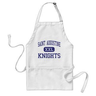 Saint Augustine - Knights - High - Laredo Texas Apron