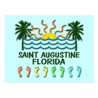 Saint Augustine postcard