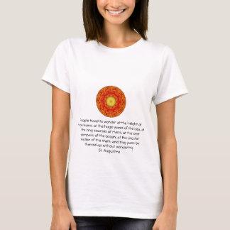 Saint Augustine travel adventure quote T-Shirt