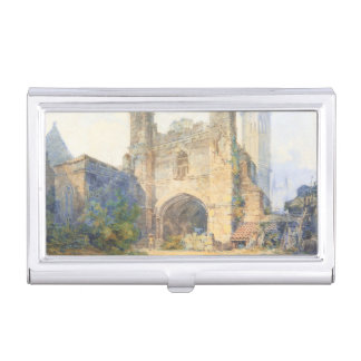 Saint Augustine's Gate, Canterbury Business Card Holder