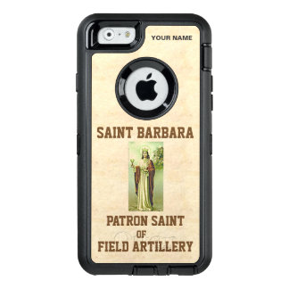 SAINT BARBARA (Patron Saint of Field Artillery) OtterBox Defender iPhone Case
