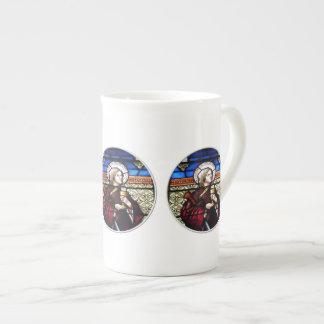 Saint Barbara Stained Glass Window Tea Cup