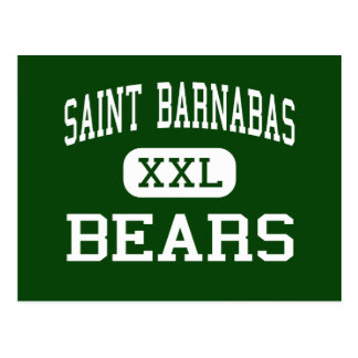 Saint Barnabas - Bears - High - Bronx New York Postcard