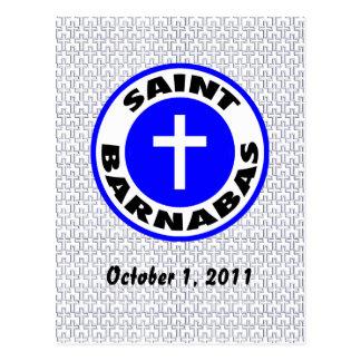 Saint Barnabas Postcard
