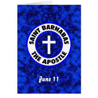 Saint Barnabas the Apostle Card