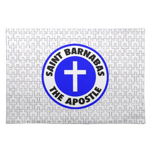 Saint Barnabas the Apostle Placemat