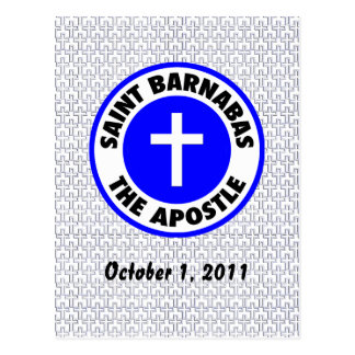 Saint Barnabas the Apostle Postcard