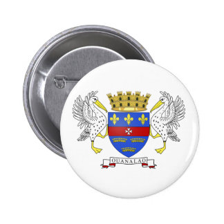 Saint Barthelemy Coat of Arms Buttons