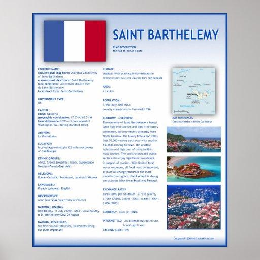 Saint Barthelemy Poster