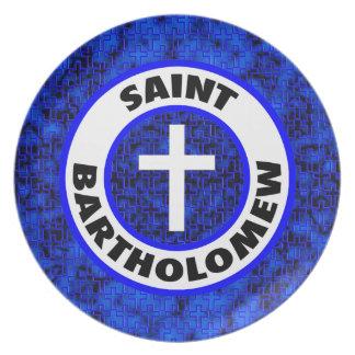 Saint Bartholomew Plate