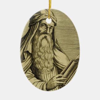 Saint Basil c400 AD Ceramic Ornament