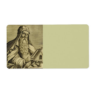 Saint Basil c400 AD Label