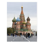 Saint Basil Cathedral. Red Square Moscow Russia Postcards