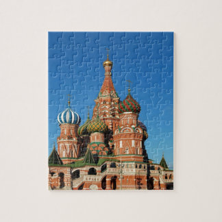 Saint Basil Cathedral  Red Square Moscow  Russian Jigsaw Puzzle