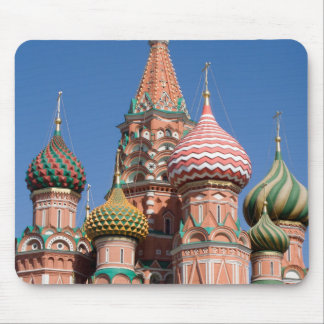 Saint Basil's Cathedral Church in Moscow Mouse Pad