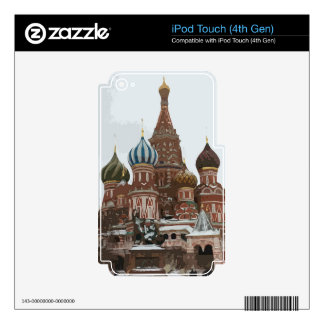 Saint Basil's cathedral_eng iPod Touch 4G Skin