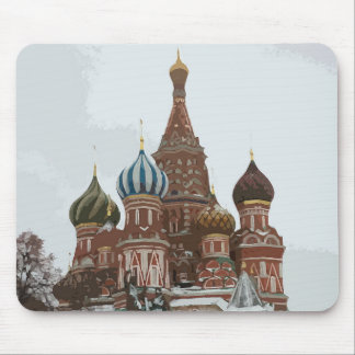 Saint Basil's cathedral_eng Mouse Pad