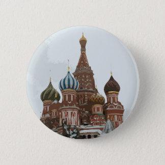 Saint Basil's cathedral_eng Pinback Button
