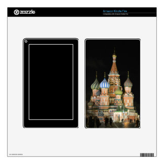 Saint Basil's Cathedral Kindle Fire Decals