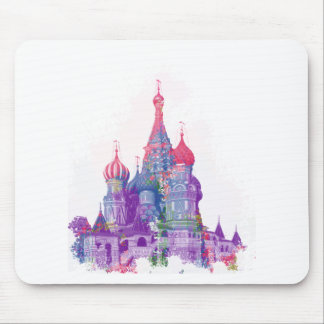 Saint Basil's Cathedral Moscow Mouse Pad