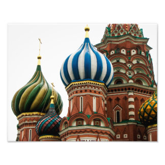 Saint Basil's Cathedral, Moscow - Photo Print