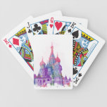 Saint Basil's Cathedral Moscow Bicycle Playing Cards