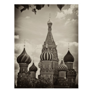 Saint Basil's Cathedral, Moscow Postcard
