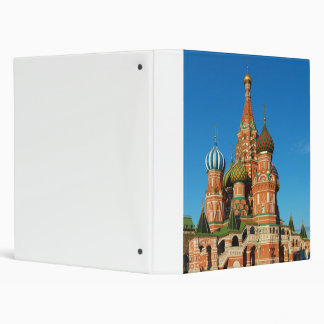 Saint Basil's Cathedral Moscow Russia Binder