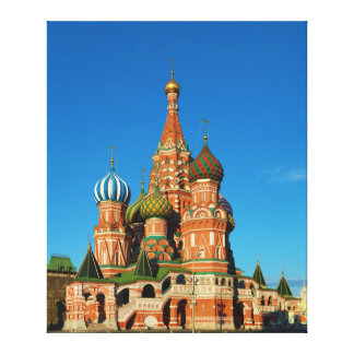 Saint Basil's Cathedral Moscow Russia Canvas Print
