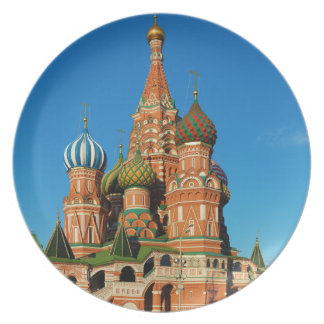 Saint Basil's Cathedral Moscow Russia Dinner Plate