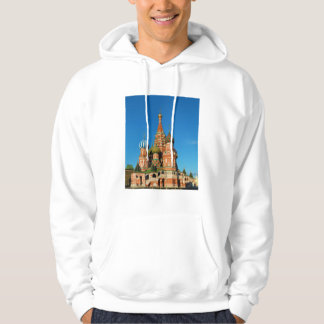 Saint Basil's Cathedral Moscow Russia Hoodie