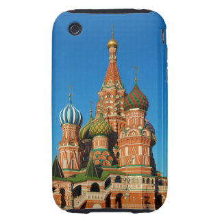 Saint Basil's Cathedral Moscow Russia iPhone 3 Tough Covers