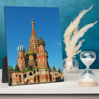 Saint Basil's Cathedral Moscow Russia Plaque
