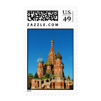 Saint Basil's Cathedral Moscow Russia Stamps