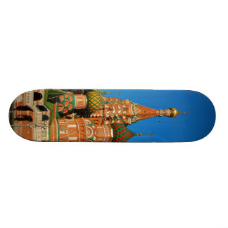 Saint Basil's Cathedral Moscow Russia Skate Board Deck