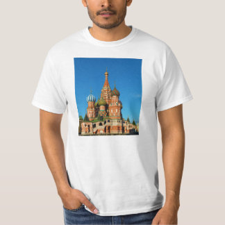 Saint Basil's Cathedral Moscow Russia T-Shirt