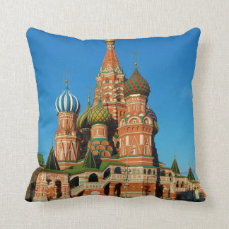 Saint Basil's Cathedral Moscow Russia Throw Pillow