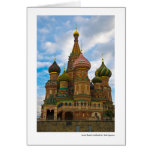 Saint Basil's Cathedral, Red Square Greeting Card