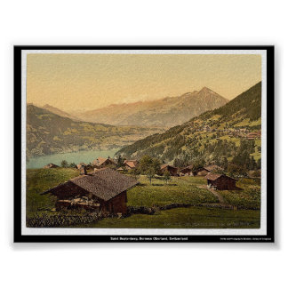 Saint Beatenberg, Bernese Oberland, Switzerland Poster