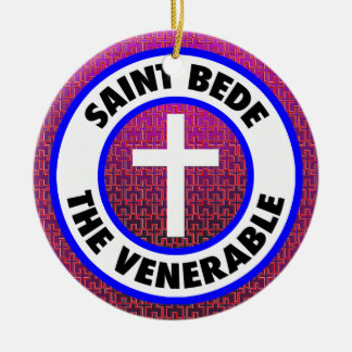 Saint Bede the Venerable Ceramic Ornament