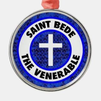 Saint Bede the Venerable Metal Ornament